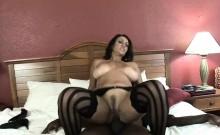 Persia Monir is pounding some big black cock
