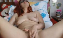 Thick Redhead Wearing Glasses