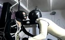 Sexy Latex Bondage With Sluts