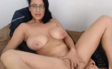 Big Tit MILF Teases on Webcam