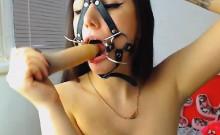 Horny Teen Masturbate Pussy until Orgasm