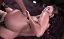 Yummy assed Olivia Wilder fucked by huge interracil cock