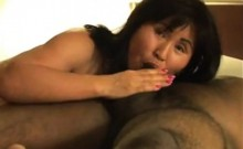 Mature wife cuckolds with 2 cocks