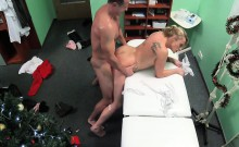 Doctor cummed twice on mature lady