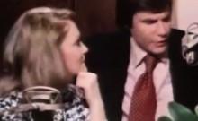 Classic porn trailer shows a retro sex party