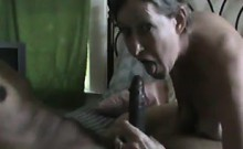 Bright Granny Does Adult Movie With Dark Stud