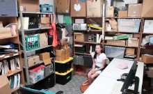 Shoplyfter- Teen Fucks Cop To Get Out Of Trouble
