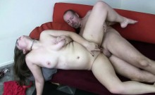 Curvy brunette Charlotte Vale gets her pussy pounded and