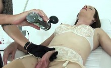 Cheating british milf lady sonia exposes her massive breasts