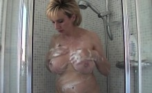 Unfaithful British Milf Gill Ellis Pops Out Her Heavy Natura