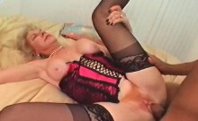Blonde sassy mature pussy drilled to orgasm