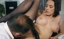 Luscious Secretary Mea Melone Blows Her Hung Boss