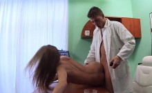 Slim patient wakes up and fucks doctor