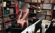 Brooke Bliss sucks the LP Officers thick cock