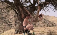 Naughty Jack Needs To Be Punished Hard Outdoor By Sean
