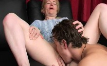 Blonde Mature Beauty With Young