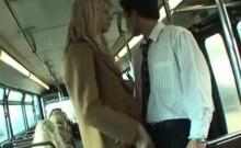 Coed Gives A Handjob In School Bus!