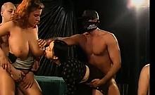Sexy Black Sluts Bukkake Party