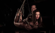 Screaming In Pleasure And Pain In Bondage Tied Up Teen