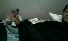 Black Guy Lying On The Bed And Jerks Off His Cock