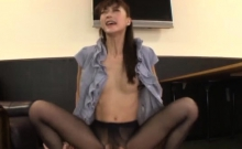 Shy Sweetheart Enchants Her Aged Colleague In The Office