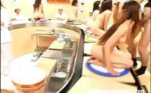 Conveyer Sushi Bukkake