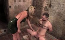 Harmony Rose Sucking Submissive Guy
