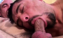 Two Old Gay Dudes Are Bareback Fucking