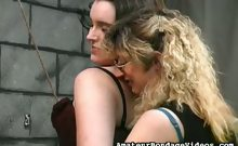 Two hotties punished