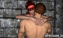 Sexy 3d Cartoon Redhead Babe Getting Fucked Hard