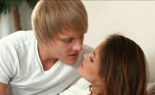 Lovely teen Emma Brown asshole banged