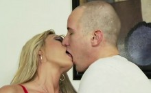 Sindy gets pussy slammed by her stepson