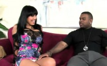 Big titty cougar Sienna West enjoys black chocolate