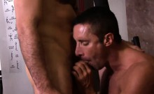 Nick takes it slow and easy moving his dick back and forth