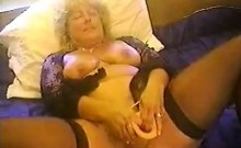 While adding her dildo stunning woman inside their middle f