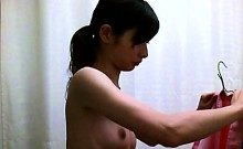 Japanese gals are changing and one has some nice boobs on s