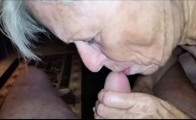 Oldest Dating Site Member Sucking his Cock