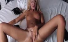 Hot Blonde Webcam Girl Teasing