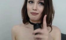 Twerking That Ass Of A Dildo