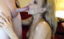 Blonde Teen Blowjob On Camshow