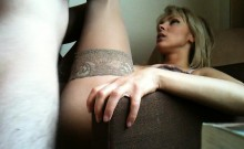 Milf blonde orgasm