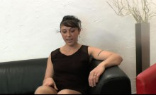 Brunette fucked by casting agent