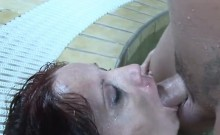 Helen Brooke is a horny and hairy mature woman, who's about