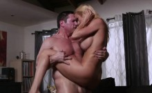 Alexis Fawx riding her clients dick