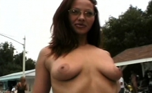 Amateur MILF Flaunting Big Boobs On Cam