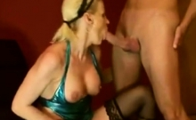 German woman trying anal sex in doggy position
