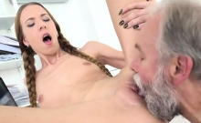 Natural bookworm is teased and poked by her senior lecturer9