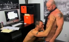 Gay anal porn Horny Office Butt Banging