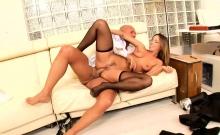 Jada Stevens likes his hard dick