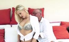 Blonde Fucking Old Man